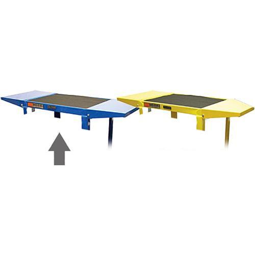 Luxor Drop Leaf Set for AVJ42 Adjustable Height Table (Royal Blue)