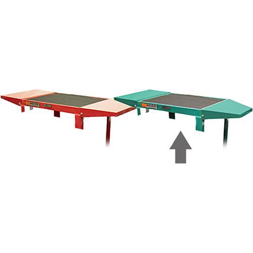 Luxor Drop Leaf Set for AVJ42 Adjustable Height Table (Green)