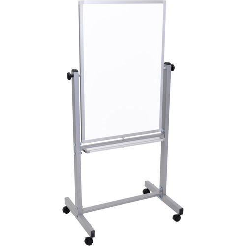 """Luxor L270 Mobile Magnetic Reversible Whiteboard (24 x 36"""")"""
