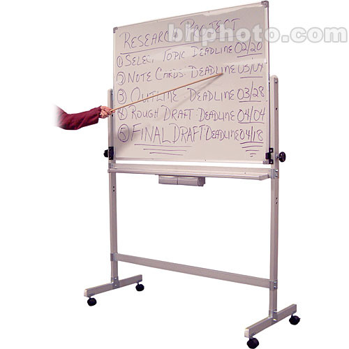 Luxor L340 Double-Sided Magnetic Whiteboard