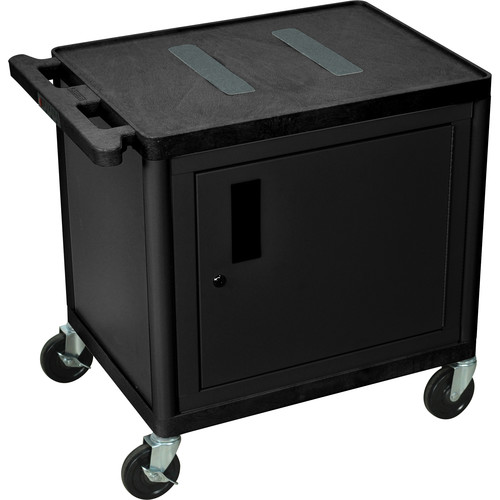 "Luxor 26"" Endura Cart With Storage Cabinet"