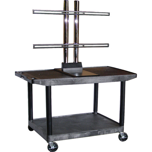 Luxor Model LE27WTUD, Mobile Plasma or LCD Table Top Stand