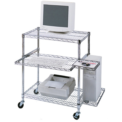 Luxor Wire Workstation (Chrome)