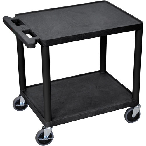 "Luxor 26"" LP TABLE w/ELECTRIC (BLACK)"