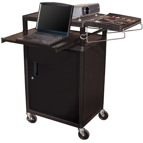 Luxor LT34PCB - Three Shelf Presentation Cart
