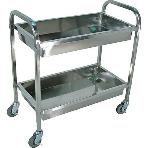 Luxor SST2L  Stainless Steel Transport Cart(Large)