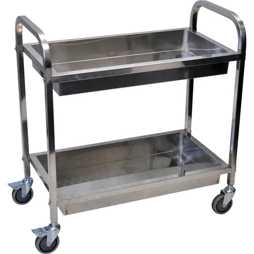 Luxor SST2S  Stainless Steel Transport Cart(Small)