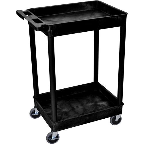 "Luxor 18x24"" HD Utility Cart (Black)"