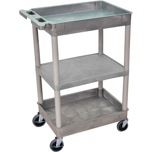 "Luxor 18x24"" HD Utility Cart (Gray)"