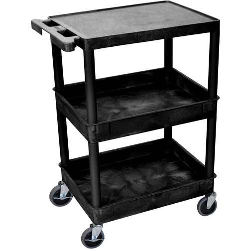 "Luxor 18x24"" HD Utility Cart (Black)"