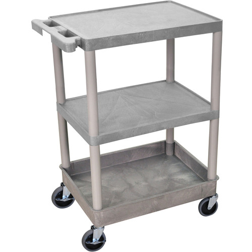 "Luxor 24x18"" HD Utility Cart (gray)"
