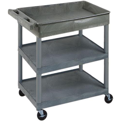 "Luxor 32x24"" HD Utility Cart (Gray)"