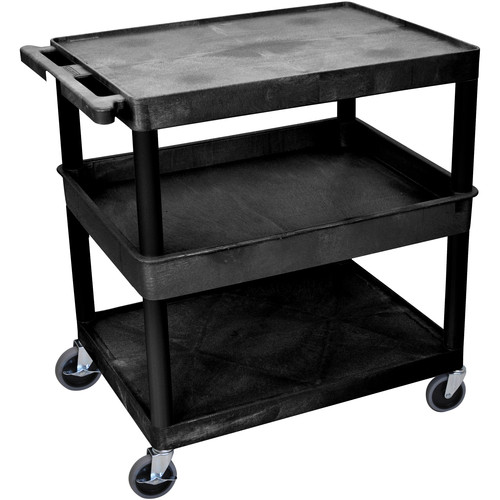 "Luxor 32x24"" HD Utility Cart (Black)"