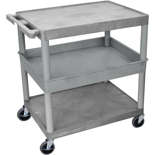 "Luxor 32x24"" HD Utility Cart (Gray)"