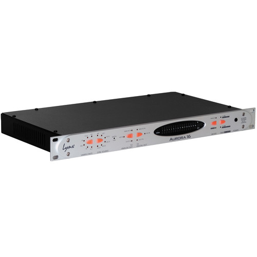 Lynx Studio Technology Aurora 16 - 16 Channel AD/DA Converter with LT-HD Card Installed