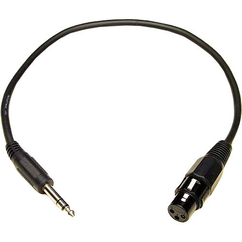 "Lynx Studio Technology 1/4"" TRS Male to XLR Female Cable - 1.5'"