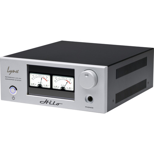 Lynx Studio Technology Hilo Reference A/D D/A Converter System with LT-USB USB Card (Silver)