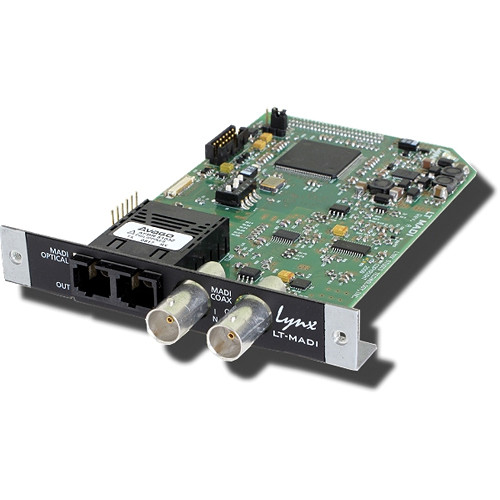 Lynx Studio Technology LT-MADI L-Slot Expansion Card for Aura 8 and Aura 16
