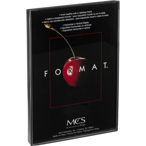 """MCS Format Frame (8.5 x 11"""", Black)"""