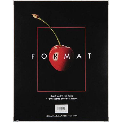 """MCS Format Frame (8 x 10"""", White)"""
