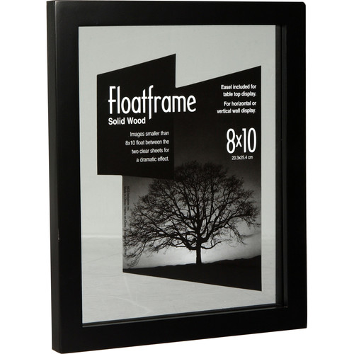 "MCS Wood Float Frame - 8 x 10"" - Black"