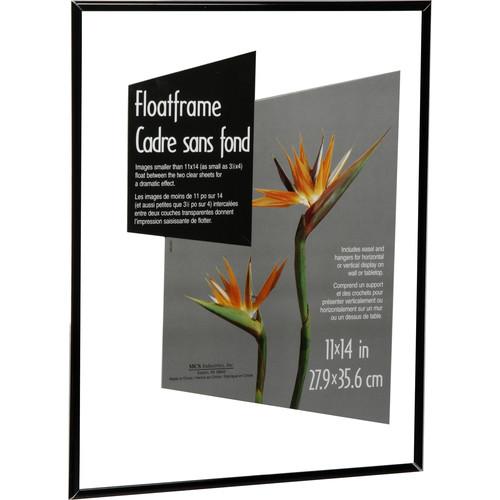 "MCS Float Frame - 11x14"", Black"