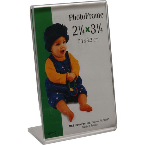 "MCS Bent Acrylic Frame - 2.25 x 3.25"""