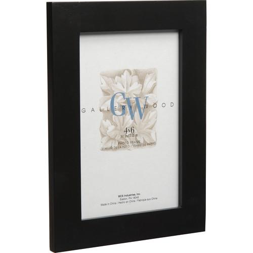 "MCS Flat Top Wood Frame (5 x 7"", Black)"