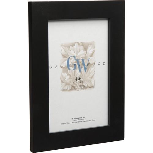 "MCS Flat Top Wood Frame (8 x 10"", Black)"