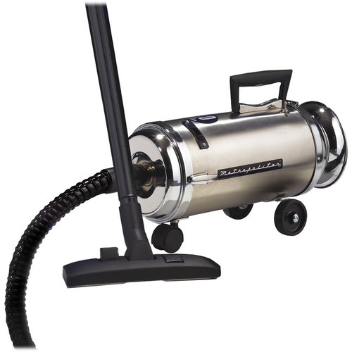 METRO DataVac OV-4BCSF Metropolitan Professional Stainless Mini Canister Vac