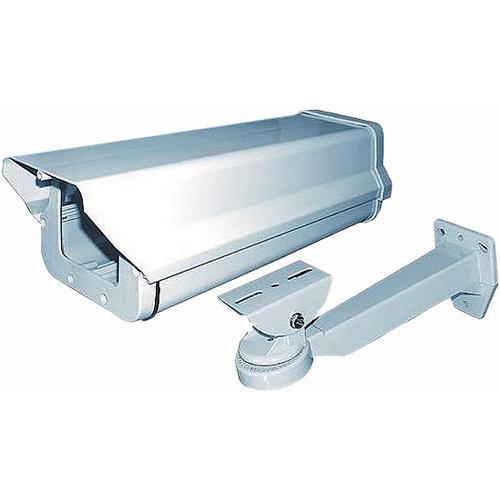 "MG Electronics CAMH-800K 15"" Indoor/Outdoor Aluminum Housing with Heater/Blower & Bracket"