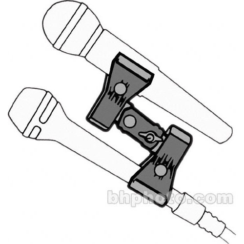 MIC-EZE Pig-E-Bak Double Microphone Clamp