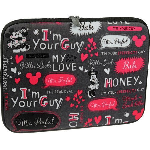 """Minnie Mouse Minnie Mouse Word Sleeve (14"""")"""