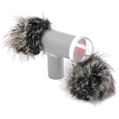 Mitra Corp. 3D Mic Gray Fox Windshield