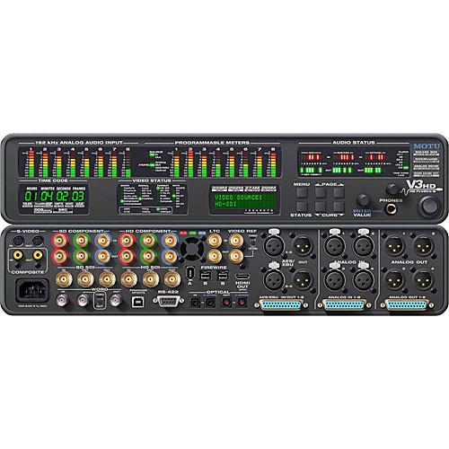 MOTU V3HD FireWire Video Interface