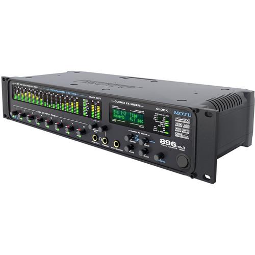 MOTU 896mk3 - FireWire/USB 2.0 Hybrid Audio Interface
