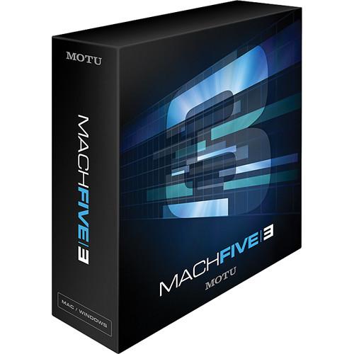 MOTU MachFive 3 - Universal Virtual Sampler (Competitive Upgrade)