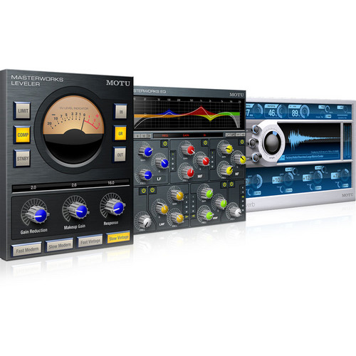 MOTU The Masterworks Collection - Audio Processing Plug-In Bundle