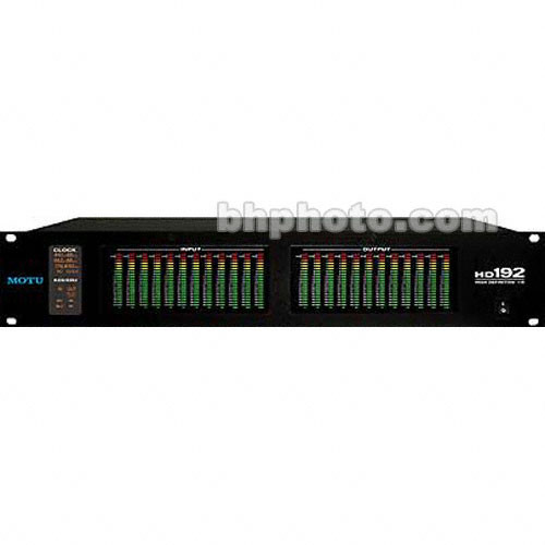 MOTU HD192 (PCI 424) - 12 Input / 12 Output High Resolution Hard Disc Recording System with PCI 424 Card for Mac and PC