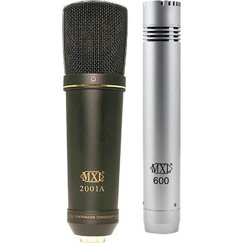 MXL 2001A/600 Studio Microphone Recording Pack