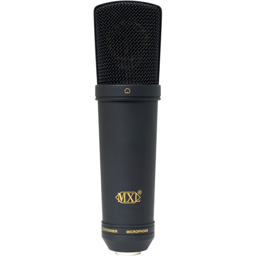 MXL 2003A Large Capsule Condenser Microphone (Black with Black Grill)