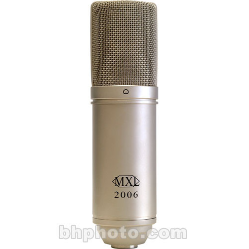MXL 2006 Large Diaphragm Condenser Microphone (Silver)