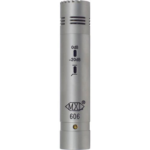 MXL 606 Small Diaphragm Instrument Microphone