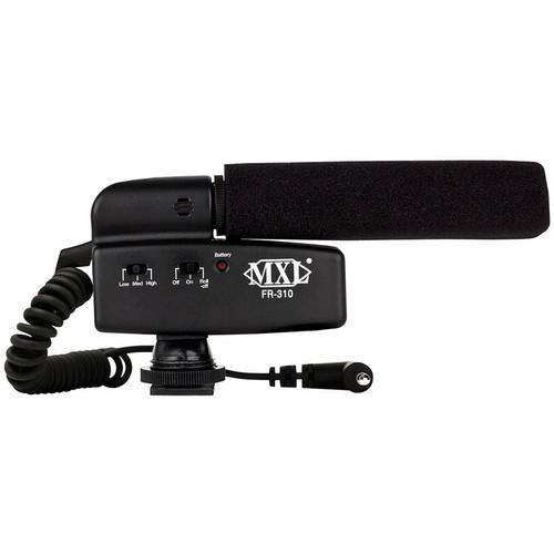 MXL FR-310 Hot Shoe Shotgun Microphone