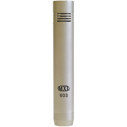 MXL 603 Small Diaphragm Cardioid Microphone (Single Microphone)
