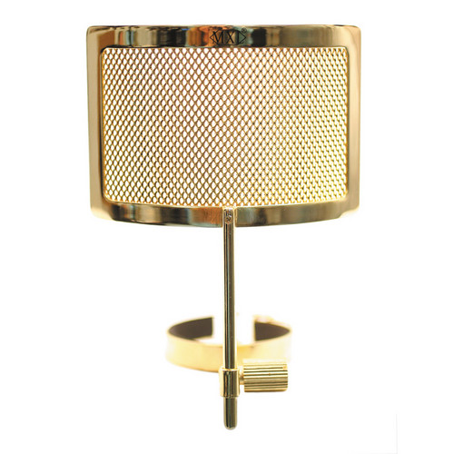 MXL PF-004-G  Metal Mesh Pop Filter for Genesis Microphones (Gold)