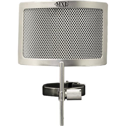 MXL PF-004-SS  Metal Mesh Pop Filter for Genesis Microphones (Chrome)