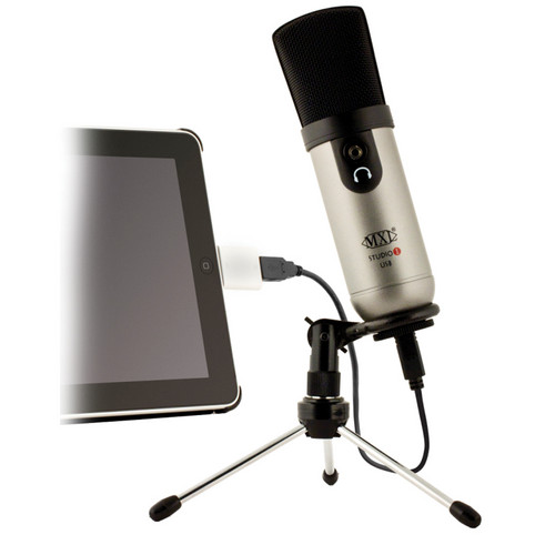 MXL Studio 1 Red Dot USB Recording Microphone Kit