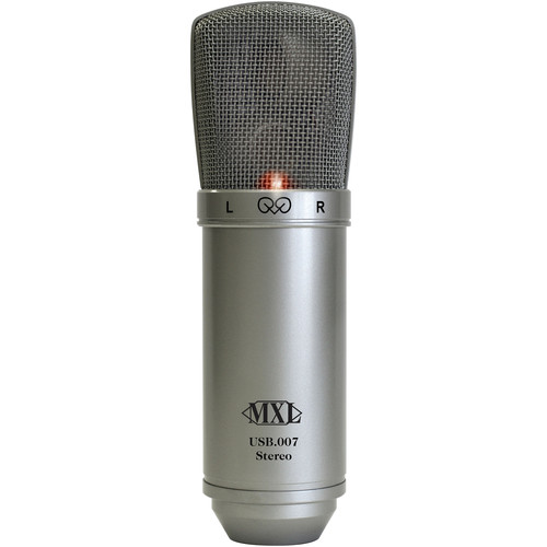 MXL USB.007 Stereo Condenser Microphone with USB