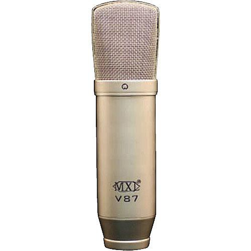 MXL V87 Low-Noise Condenser Microphone (Nickel Plated)